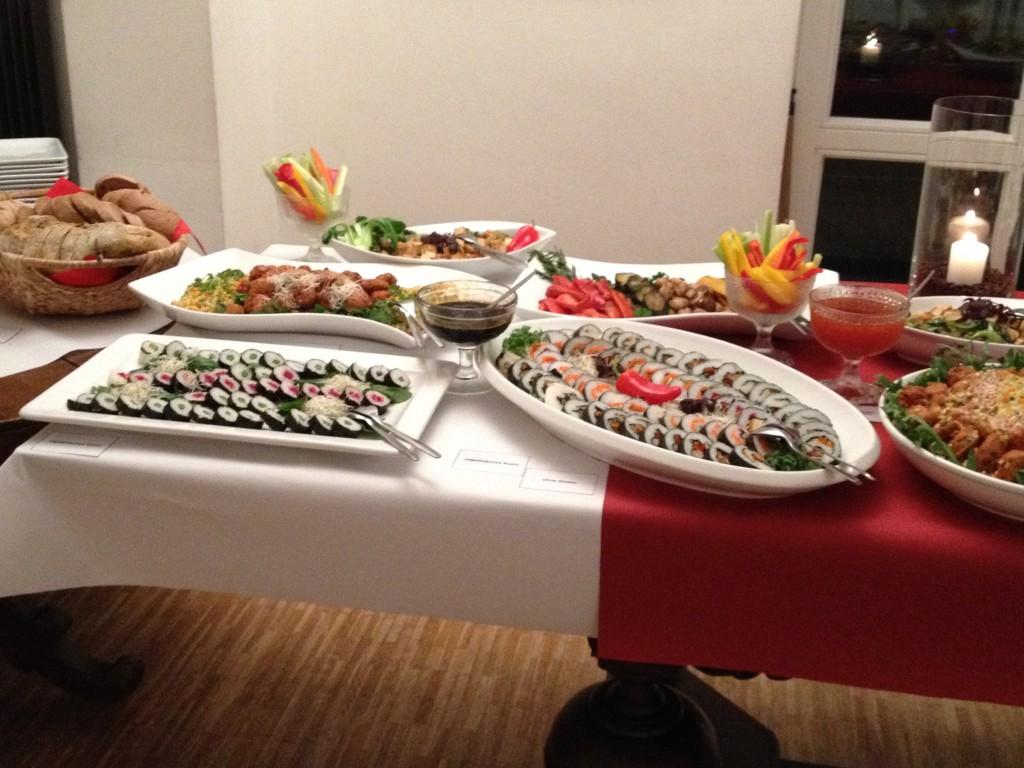 Veganes Buffet